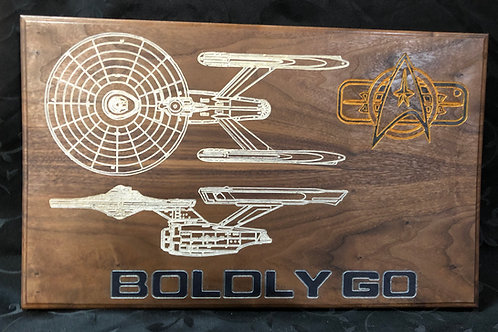 Boldly Go #4