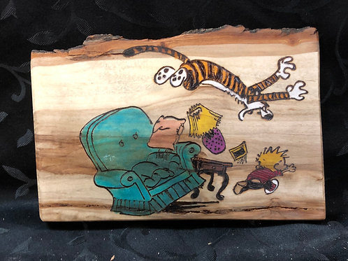 Calvin and Hobbes Attack