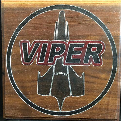 Battlestar Galactica Viper logo
