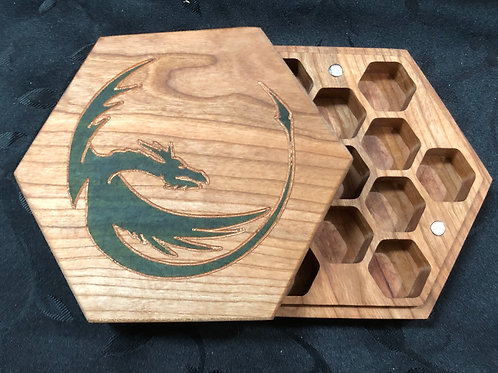 Green Dragon Dice Box