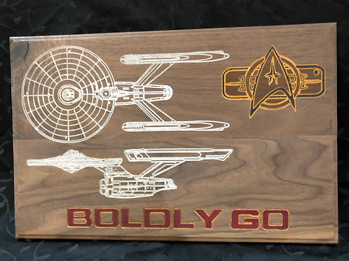 Boldly Go #1