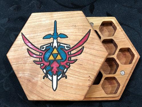 Triforce Dice Box