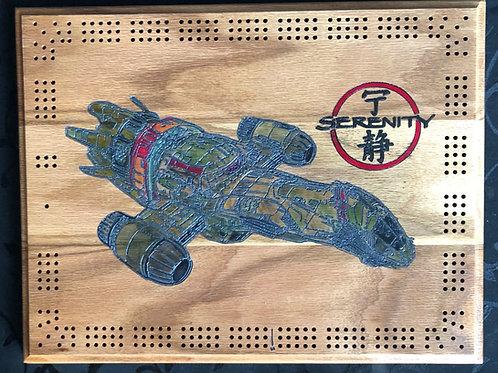 Firefly Serenity  Cribbage board