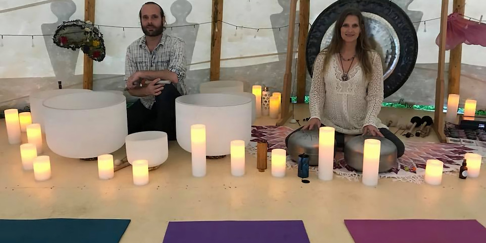 8PM SUNSET Sacred Sound Healing in the Tipi