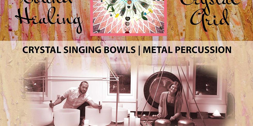 Sound Healing Meditation w/ Crystals
