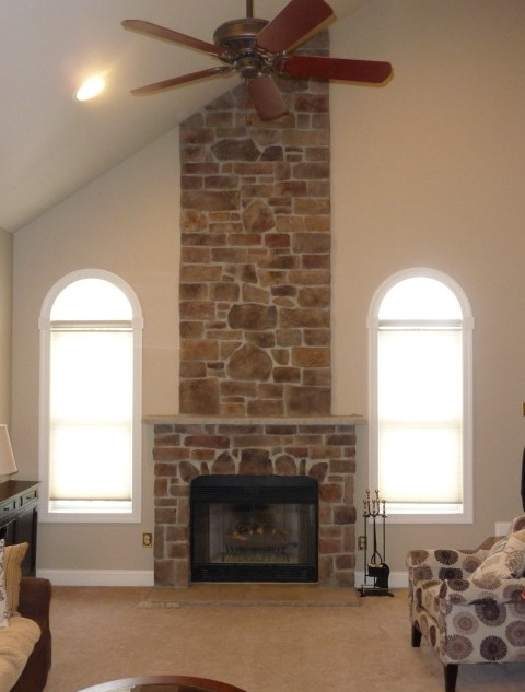 update with cultured stone