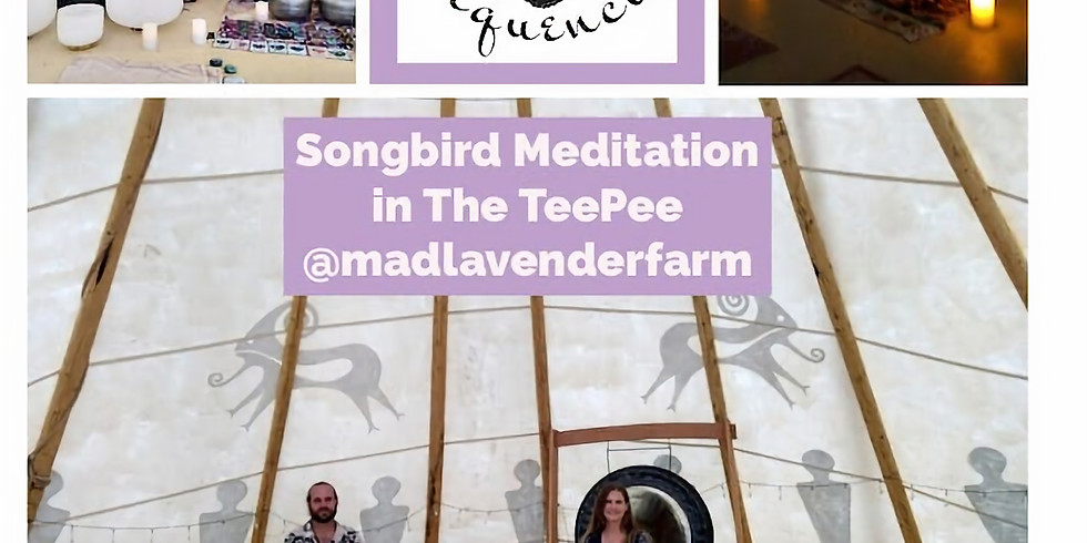 5PM SONGBIRD Sacred Sound Healing in the Tipi
