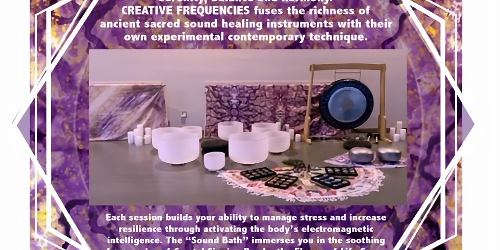 PureSpace - Creative Frequencies - Sound Healing