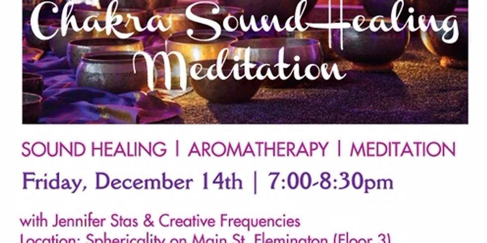 Chakra Sound Healing with Jenn Stas