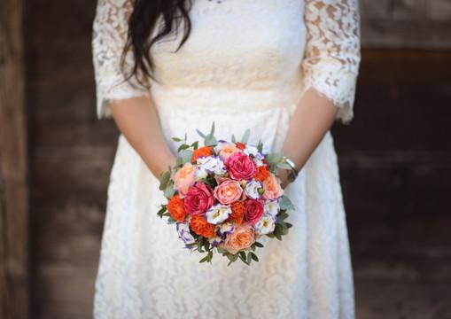 Bouquet Mariée Peruvien