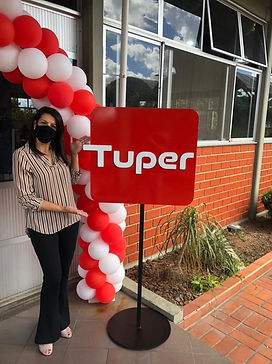 Envelopamento Tuper - Tuper 50 anos - Agência e21