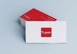 Cartão de Visitas - Tuper 50 anos - Agência e21