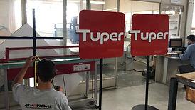 Envelopamento Tuper 2 - Tuper 50 anos - Agência e21