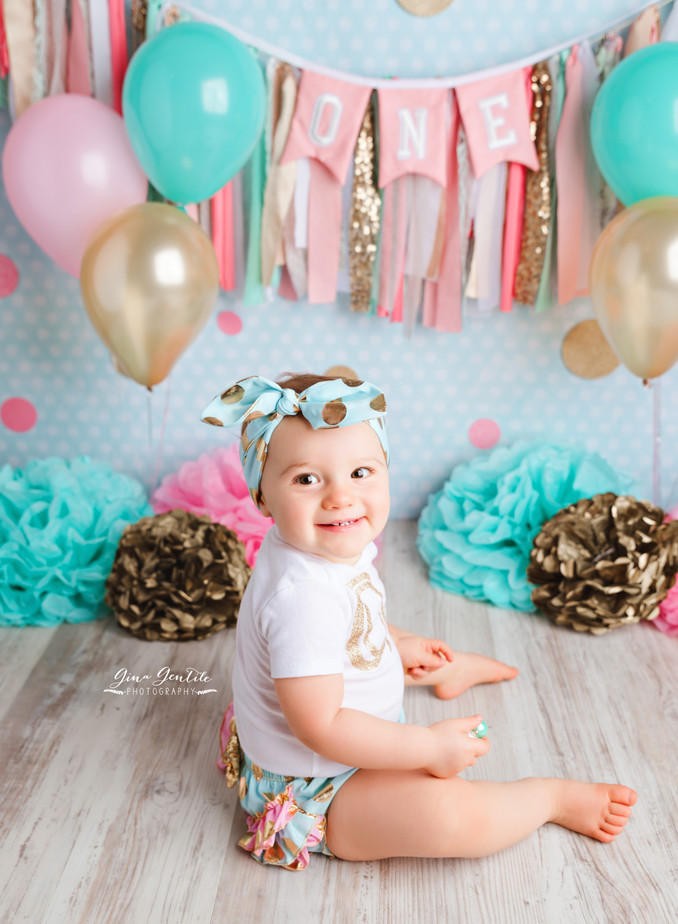 Lauren's Cake Smash Session | Gina Gentile Photography, Long Island Cake Smash & Newborn Pho