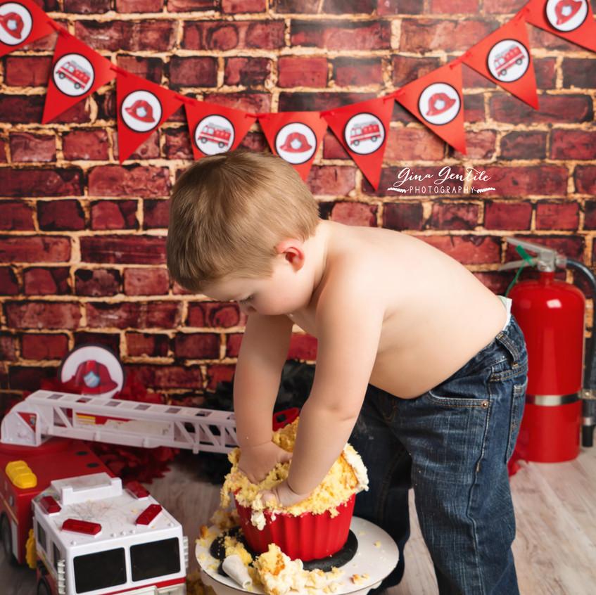 Long Island Cake Smash Photography