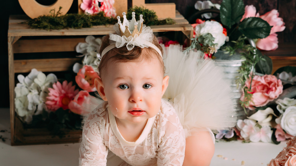 Brinley's Cake Smash Session | Gina Gentile Photography, Long Island Cake Smash & Newborn Ph