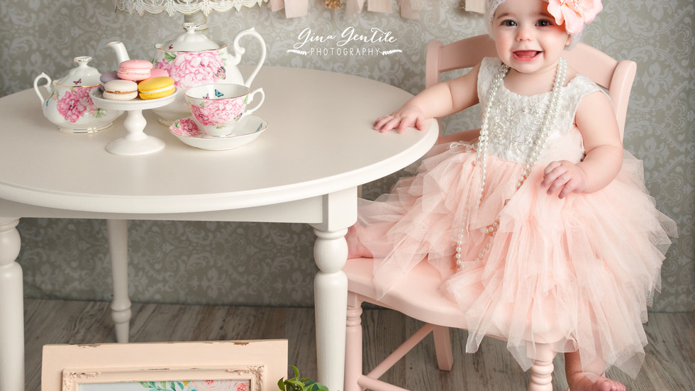 Isabella's Cake Smash Session | Gina Gentile Photography, Long Island Cake Smash & Newborn P