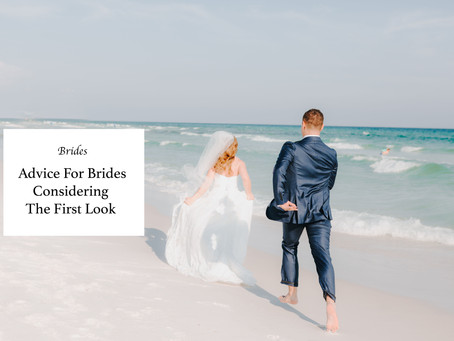 Advice For Brides Considering First-Look Wedding Photos