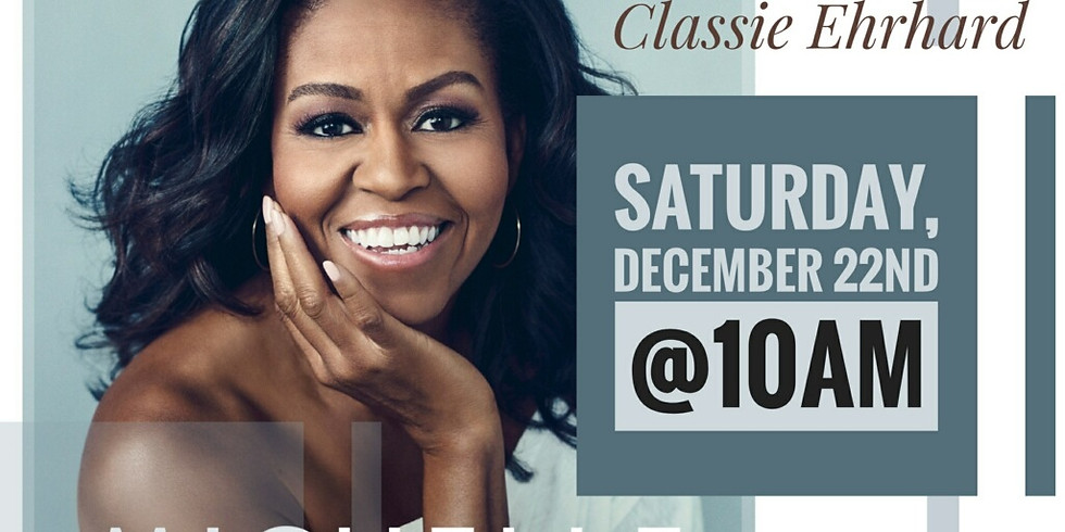 Book Club & Discussion: Becoming by Michelle Obama