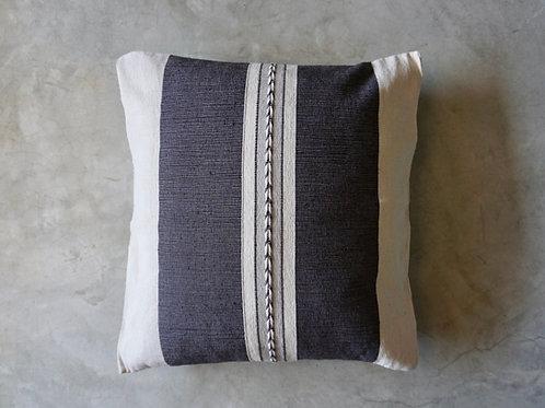 Flecha Cushion- Cotton Woven- Slate Grey