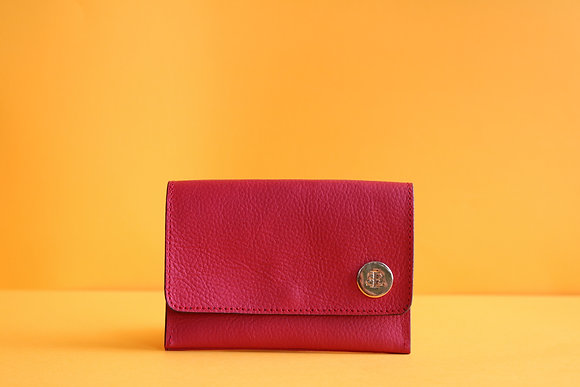 Small Wallet- Red