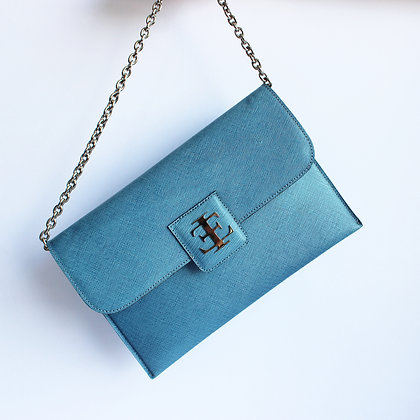 Elisa Clutch- Light Blue