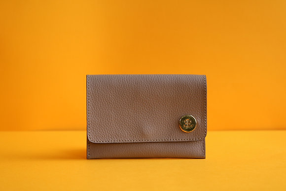 Small Wallet- Taupe
