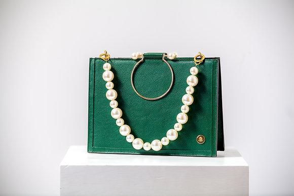 Andrea Handbag- Olive Green