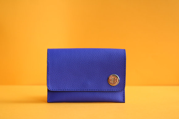 Small Wallet- Electric Blue
