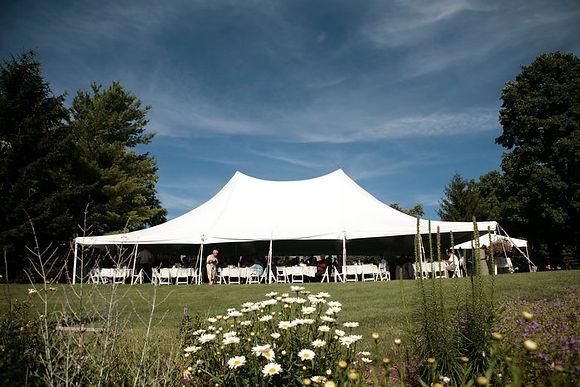 40 x 60 White Pole Tent