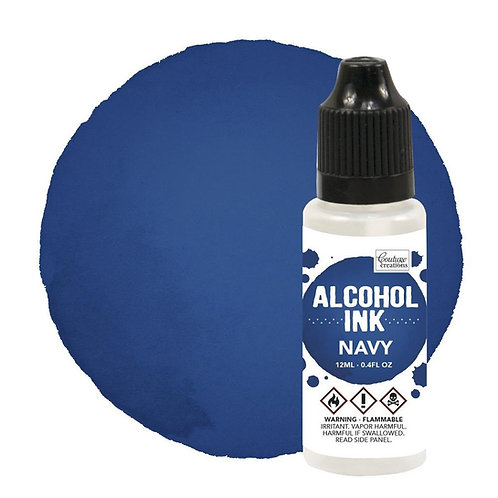 Navy Alcohol Ink