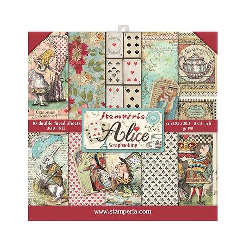 Alice Paper Pack Stamperia