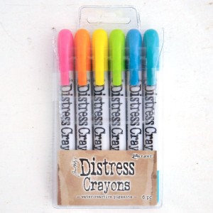 Tim Holtz Distress Crayons Set 1