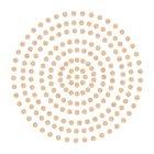 2mm Champagne Adhesive Gems
