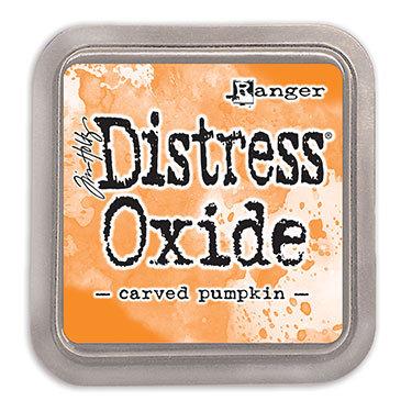 Carved Pumpkin Oxide Ink