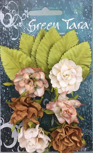 Ochre Tea Roses