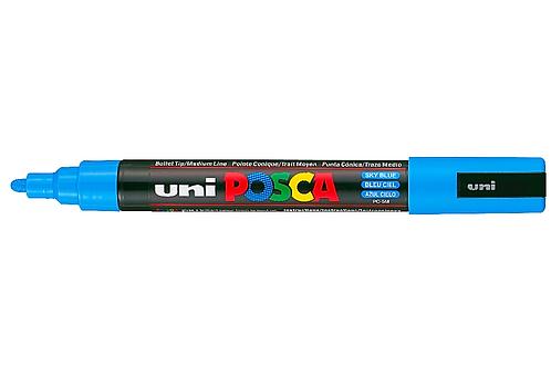 Sky Blue PC-5M Posca Paint Pen