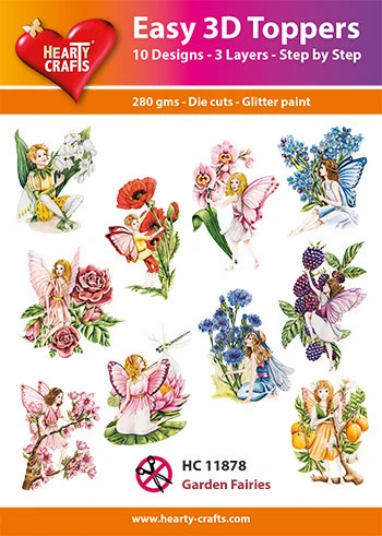 Garden Fairies 3D Toppers