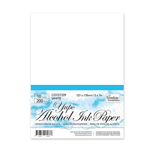 - White A4 - YUPO PAPER 200gsm (10 sheets per pack)