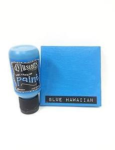 Blue Hawaiian Dylusions Paint