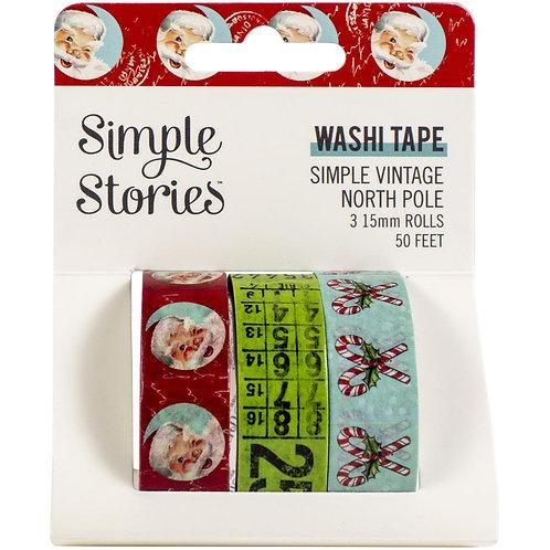 Vintage North Pole Washi Tape