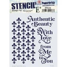 Authentic Beauty Stencil