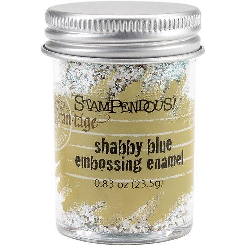 Shabby Blue Embossing Enamel