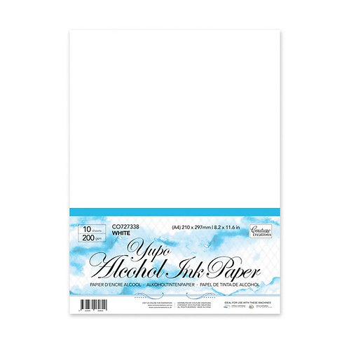 *Yupo Paper - White 5 x 7in - 200gsm (10 sheets per pack)