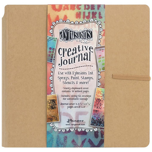 DYLUSIONS JOURNAL 8.25 X 8.25