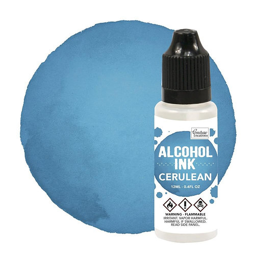Cerulean Alcohol Ink