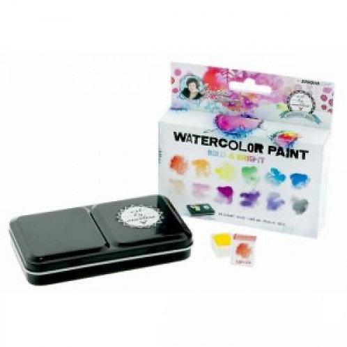 Bold & Bright Watercolour Paint