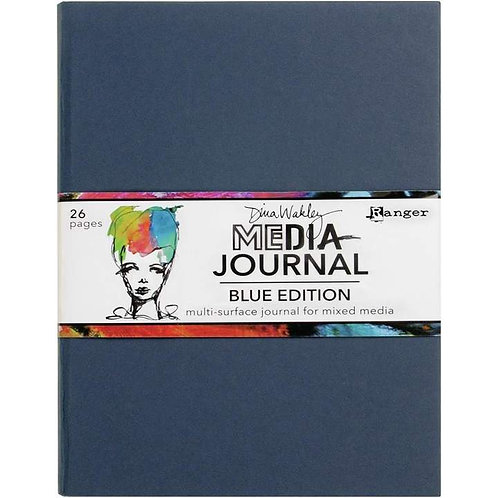 Dina Wakley Blue Edition Journal