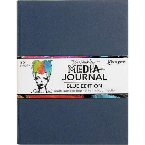 Dina Wakley Blue Edition Journal