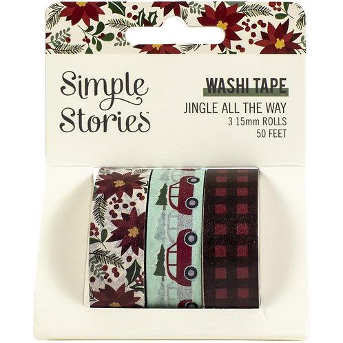 Jingle All The Way Washi Tape